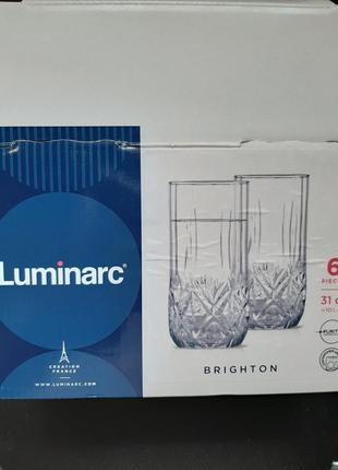 Стаканы 6шт luminarc