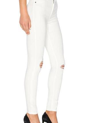 Білі джинси з легкого котону,cheap monday