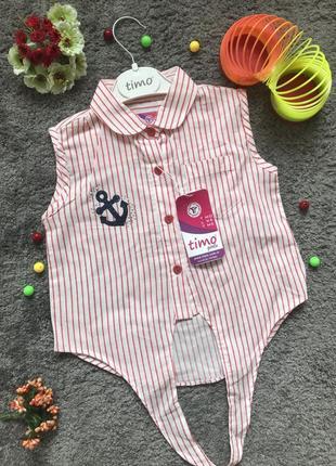 Легесенька рубашка для дівчинки