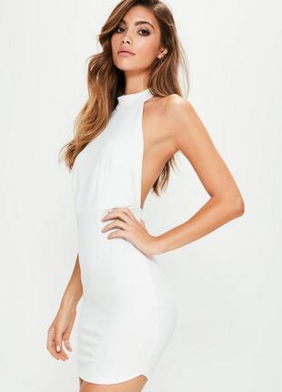 Стильное платье с чокером missguided