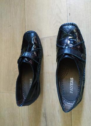 Шкіряні туфлі pavers 39