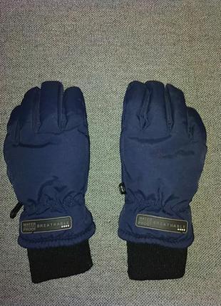 Перчатки рукавицы зимние лыжные