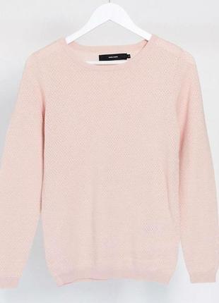 Нежно розовый джемпер от vero moda