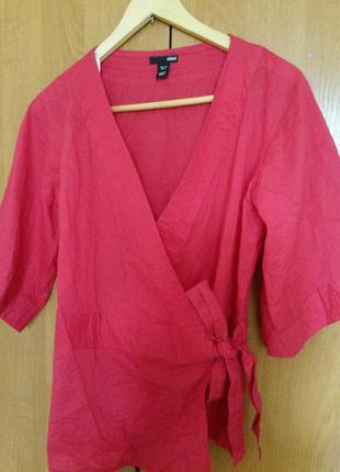 Блуза-кимоно h&m.
