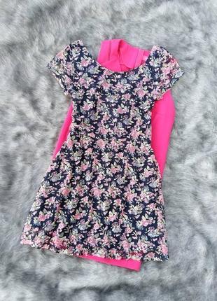 Кружевное платье clockhouse