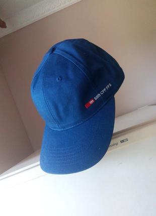 Стильная синяя кепка - бейсболка от «swicher»