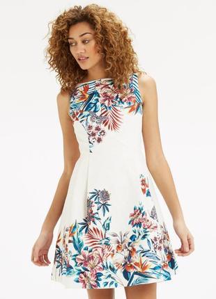 Oasis шикарное жаккардовое платье