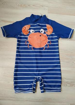 Солнцезащитный купальник гидрокостюм купальный костюм для плаванья f&f на мальчика 2-3года
