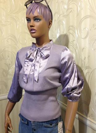 Джемпер-блуза, mango, размер l