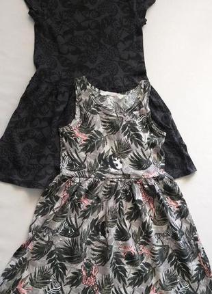Набор хлопковых платьев h&m на 5-6лет