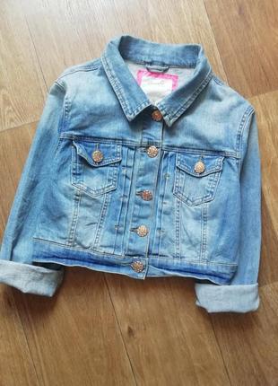 Джинсовка, джинсовая куртка, курточка, пиджак, жакет, болеро