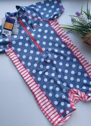 Купальный костюм на девочку 62-68, 74-80, 86-92 см lupilu