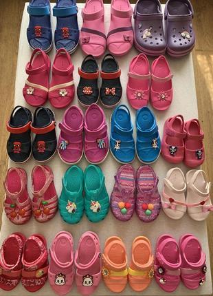 Огромный выбор обуви crocs 🔥☀️😎 размеры от 20 до 36 оригинал ❗❗❗