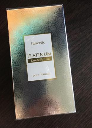 Парфюмерия  platinum . faberlic духи