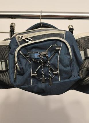 Спортивна поясна трекінгова вело сумка для бігу для фляг бананка gelert