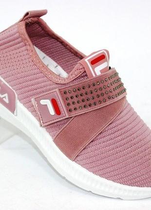 Текстильные кроссовки для девочки ga1-4