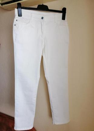 Брюки, бриджи, джинсы белые brax. р. 36-38