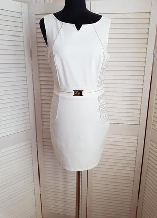 Нарядное белое платье morgan