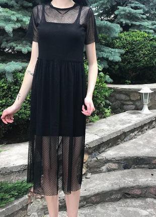 Женское платье-двойка atmosphere ( атмосфера ххс-хсрр)