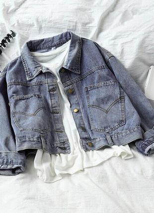 129 джинсовка стильная