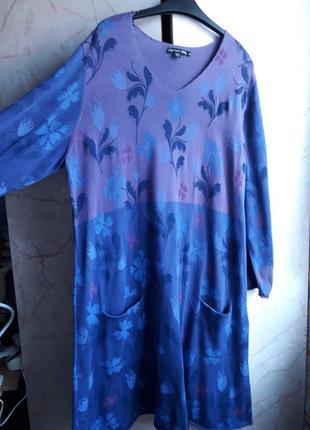 Био котон! удобнейшее платье.размер xl