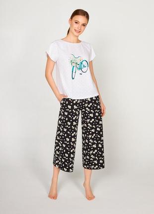 Пижама с кюлотами