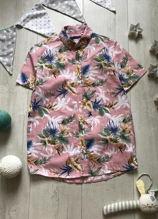 Стильная рубашка next 10 лет