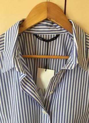 Рубашка -платье -туника zara originally