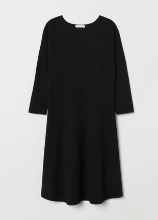 Трикотажное платье осень h&m2 фото