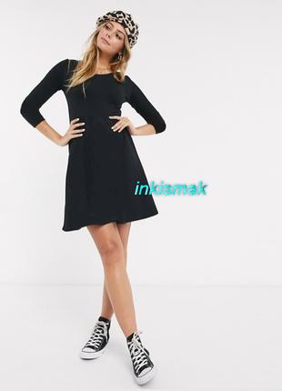 Трикотажное платье осень h&m1 фото
