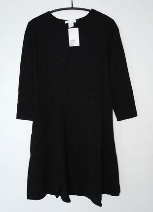 Трикотажное платье осень h&m3 фото