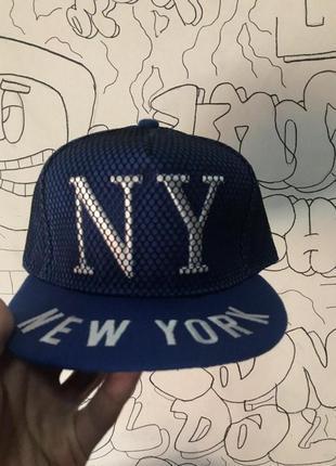 Снэпбек new york синий
