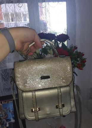 Рюкзак с блестками