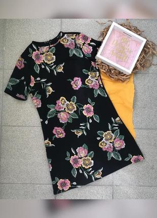 Платье new look с цветами