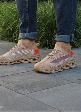 Топ-качество бежевые мужские кроссовки 2020!