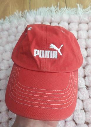 Хлопковая кепка puma