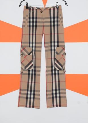 Оригінальні штани burberry giant nova check штаны клетка оригинал