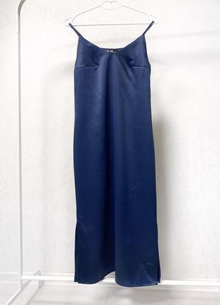 Красивое платье комбинация слип дресс