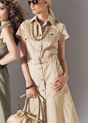 Платье в стиле милитари tommy hilfiger