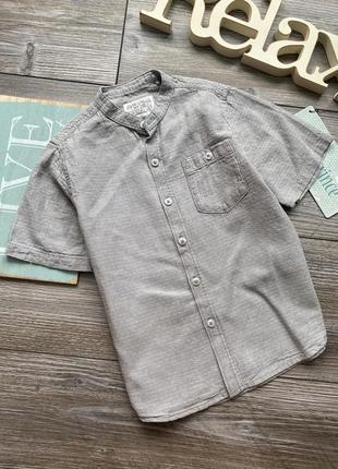 Рубашка лен next 4-5л