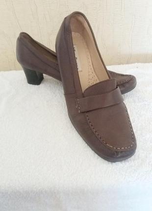 Туфли лоферы топсайдеры