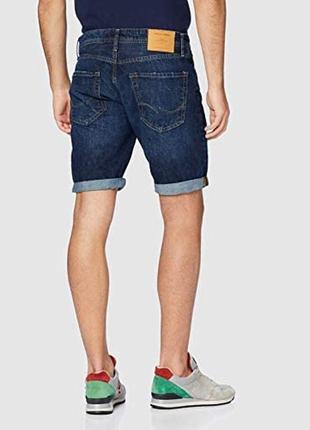 Стильные джинсовые шорты jack&jones rick originals regular fit shorts