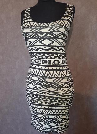Летнее бандажное платье miss selfridges