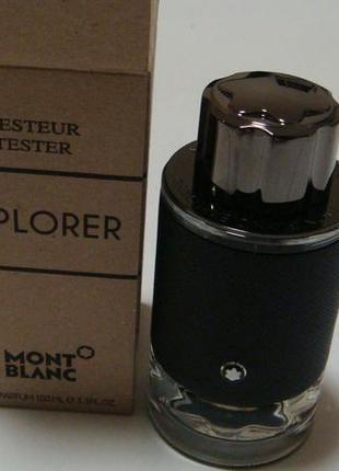 Montblanc explorer парфюмерная вода. есть подарки