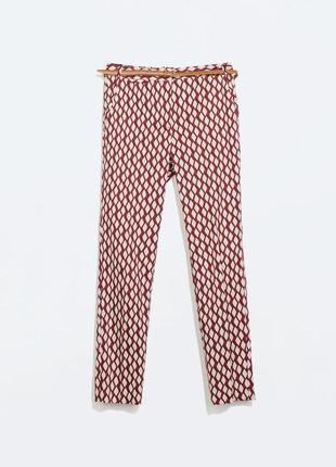 Тоненькие брюки zara