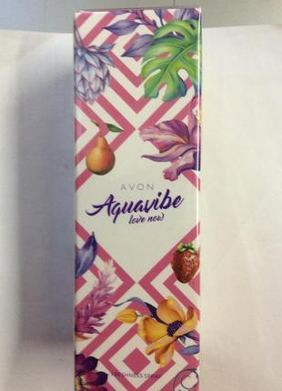 Женская туалетная вода aguavibe love now avon