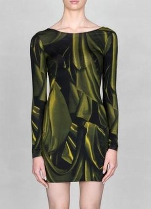 Стильное новое короткое женское трикотажное платье с открытой спиной & other storis