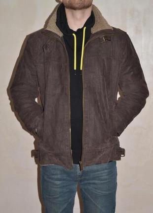 Куртка пилот натуральная кожа