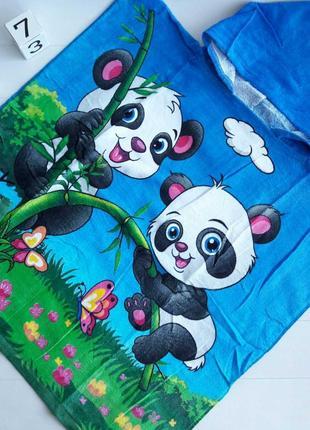 Полотенце пончо размером 60*60 см
