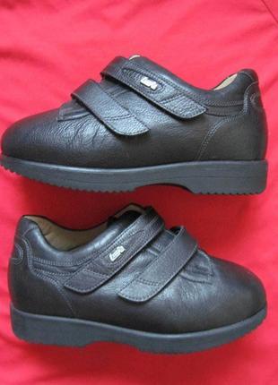 Lucro by schein (36, 23 см) для диабетиков кожаные ботинки женские